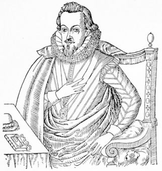 Robert Cecil, from the engraving by Elstrak