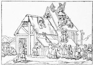 The two Shepherds, from a drawing by Hans Sachs, about 1525