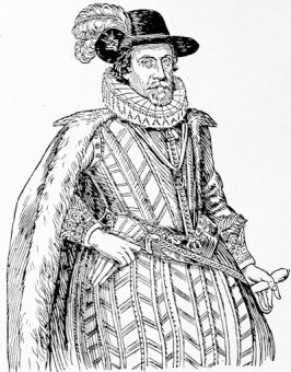James I, from a contemporary engraving