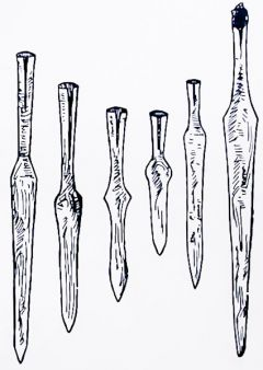 Saxon spear heads