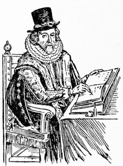 Sir Francis Bacon, Viscount St Alban, from the engraving by William Marshall