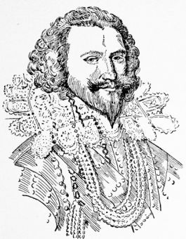 George Villiers, Duke of Buckingham (1592-1628), after a painting by Mierevelt