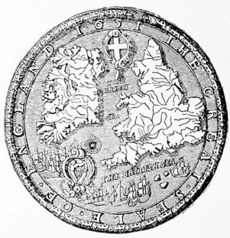 The Great Seal of the Commonwealth, 1651