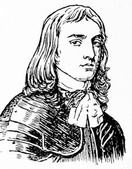 Richard Cromwell, from a miniature by Samuel Cooper, 1664