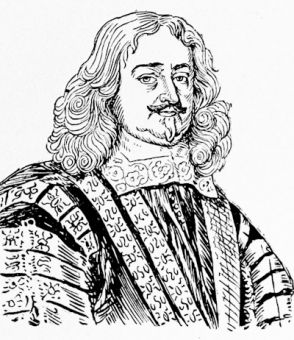 Edmund Hyde, Lord Clarendon, after the portrait by Loggan
