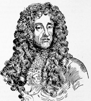James II, after the engraved portrait by Giffart