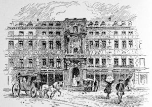 The old Mercer\'s Hall, where the Bank of England was first established