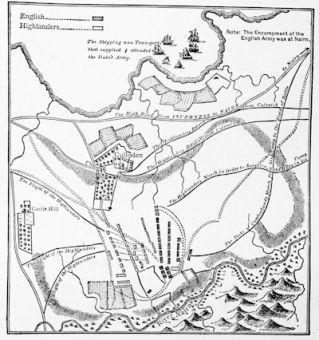 A contemporary plan of the Battle of Culloden