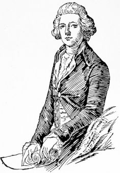 The Right Hon. William Pitt, after the portrait by Gainsborough
