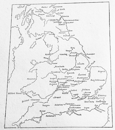 England and the Lowlands under Normans and Plantagenets