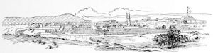 Seringapatam, Tippu\'s capital, stormed in 1799, taken from a view in Home\'s \'Mysore\', Madras, 1794