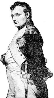 The Emperor Napoleon, from the painting by Delaroche