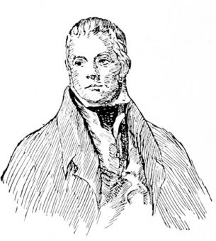 Sir Walter Scott, after the painting by Raeburn
