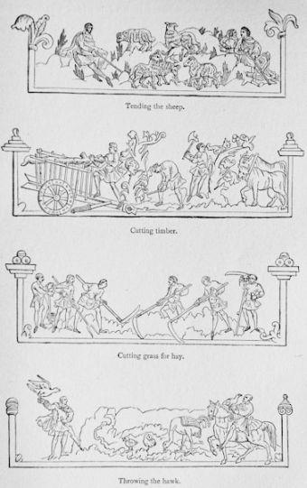 feudal system diagram