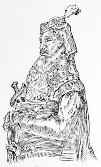 Nana Sahib, from a sketch made in 1857