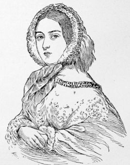Queen Victoria in 1857, from a painting by Alexander Blaikley