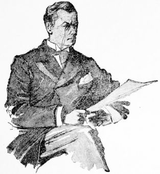 Mr Joseph Chamberlain, from a drawing by W. Hodgson, 1895