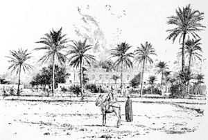 The Palace of the Governor-General of the Sudan at Khartum