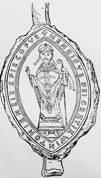 Seal of Henry, Bishop of Winchester, brother of King Stephen