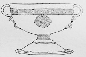 An Irish chalice of the 10th to 11th centuries