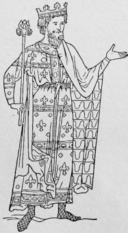 An English monarch about 1190