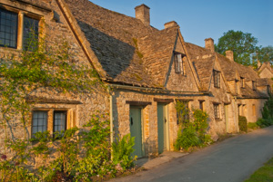 Arlington Row, Bibury. Gloucestershire