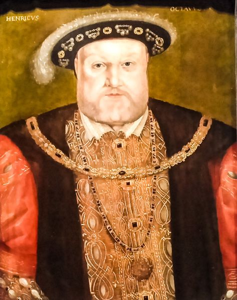 National Portrait Gallery photo, Henry VIII, by an unknown artist