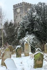 Ramsgate, St Laurence in Thanet Church, St Laurence church in winter