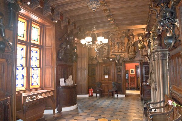Abbotsford House photo, Entrance Hall