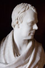 Abbotsford House, Bust of Sir Walter Scott