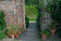 Acorn Bank, Walled garden entrance