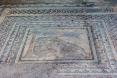Aldborough Roman Site, Labours of Hercules mosaic floor