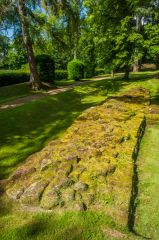 Aldborough Roman Site, A section of Roman wall