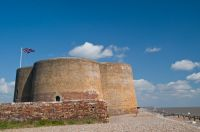 Martello Tower, south end of Aldeburgh beach