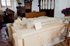 Aldworth, St Mary's Church, Sir John and Lady Isabella de la Beche effigies