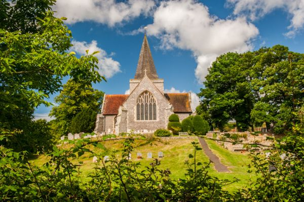 Alfriston photo, Alfriston church