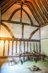 The timber-framed hall