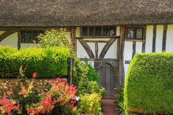 Alfriston Clergy House photo, The house front