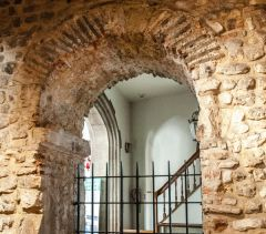 The Saxon archway