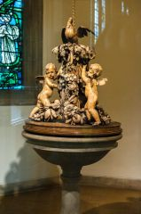 The Grinling Gibbons font cover
