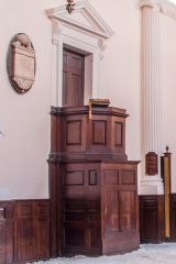 All Hallows London Wall, The 18th century pulpit
