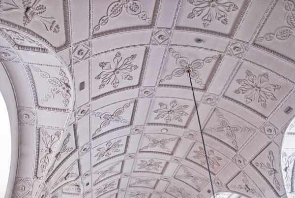 All Hallows London Wall photo, The plasterwork ceiling