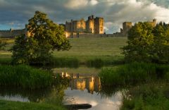 Alnwick Castle from the river