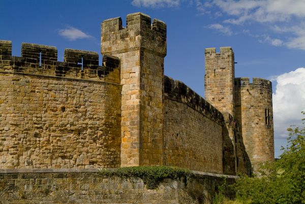 Alnwick Castle photo, Outer Wall