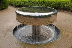 Alnwick Garden, An unusual garden fountain