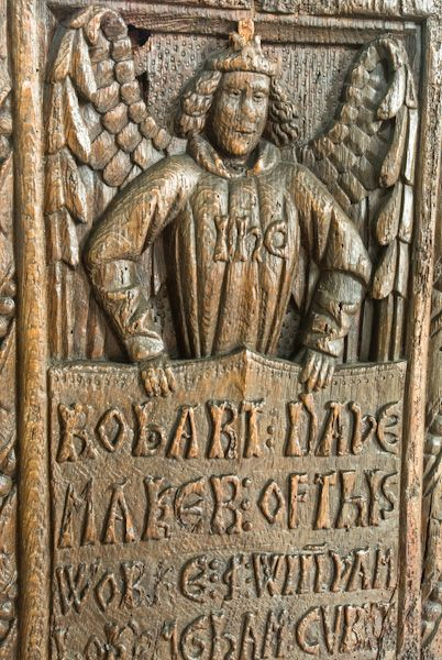 Altarnun, St Nonna's Church photo, Robert Daye carving
