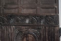 Chancel carving detail