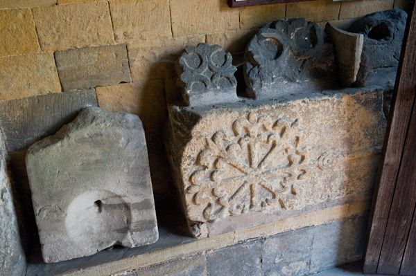 Amotherby, St Helen's Church photo, Anglo-Viking crosses