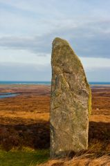 A closer look at the standing stone