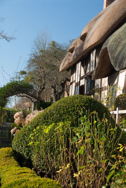 Anne Hathaway's Cottage photo, The restored front garden